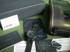 N.O.A. NOA CHRONOGRAPH WATCH / MODEL GC6 002 #0001 / BLACK & GREEN / NEW IN BOX
