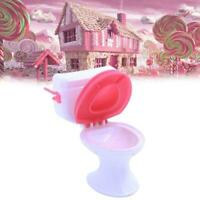 Toy Toilet Accessories Plastic Doll Toys Doll House TOP Furniture Bathroom G7W1