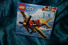 Lego City Rennflugzeug 60144 Fugzeug Renn plane aircraft Race