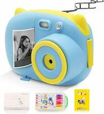 Digital Instant Print Camera, Black and white print creative graffiti photo Deve