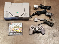 Refurbished Sony Playstation 1 PS1 Console, Controller & Game Bundle *SCPH-5552*
