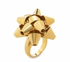 Kate Spade Bourgeois Bow Ring NWT Witty Gift Wrap Bow Art Piece Size 6.5