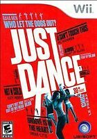 NEW Just Dance  (Wii, 2009) English Version NTSC