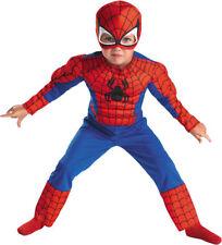 Spider-Man Child Muscle Costume L 4-6 -50122L