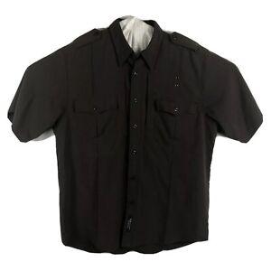 5.11 Tactical Mens Patrol Duty Uniform AClass Shirt SZ LG Brown 16-16.5