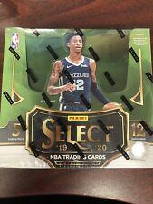 2019-20 Caja PANINI SELECT Hobby 12 paquetes NBA Zion Williamson Ja Morant Royal Crown?