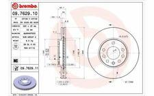 2x BREMBO Bremsscheiben vorne belüftet 280mm für OPEL ZAFIRA 09.7629.10