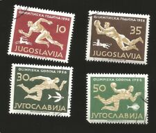 O) 1956 YUGOSLAVIA, OLYMPIC GAMES GAMES MELBOURNE, RUNNER-SOCCER-SWIMMING-WATER