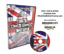 Who Killed British Cinema ? DVD SEALED BRAND NEW.