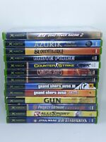 Original Xbox Game Lot 13 Games Tested & Working Grand Theft Auto Star Wars