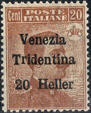 Mint Hinged Postage Italian Stamps
