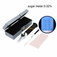 Brix Specific Gravity Refractometer Fruit Juice Wine Sugar Test 032