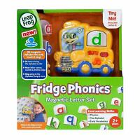 LeapFrog Fridge Phonics Magnetic Letter Set Ages 2+ New Toy Play Boys Zoo Bus