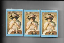 Dr. Pepper Victorian Ladies Sealed Dks Of Playing Cards
