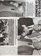 SP23 Clipping-Ritaglio 1984 Ivanoe Fraizzoli Questo calcio non lo riconosco più