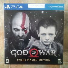 God of War: Stone Mason Limited Edition (Sony PlayStation 4) Brand New Sealed