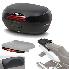 Kit fijacion + maleta baul trasero + luz de freno + respaldo regalo SH46 compat