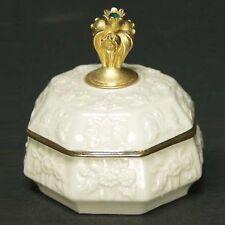 May Birthstone Keepsake Jewelry Box - Lenox - Lily of the Valley Flowers - Lenox