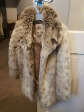 Girls Faux Fur Coat Age 3-4 Years