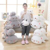 Kawaii Lying Cat Plush Toy Stuffed Cute Cat Doll Lovely Animal kids holiday gift