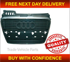 AUDI A4 B7 2005-2008 FRONT CENTRE BUMPER GRILLE WITH CHROME HIGH QUALITY