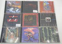 Lot of 38 Used ASSORTED CDs - Priest,Slayer,Rush,Sabbath,Tool,Kiss,Dio,NIN..