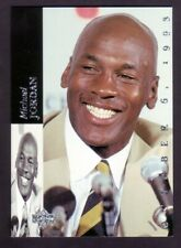 Michael Jordan 1993-94 Upper Deck SE Jordan Retires #MJR1