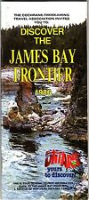 James Bay Frontier Northern Ontario Canada Vintage Tourist Guide Booklet 1986