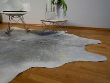 Premium Kuhfell Grau und Weiß, ca. 230cm x 190cm, NEU, RUG