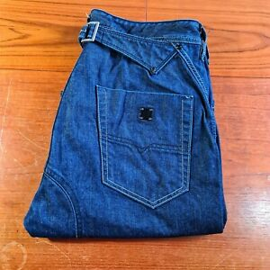 Diesel Mens Jeans Pheyo Blue W32 L32 Comfort Straight Fit Made In Italy