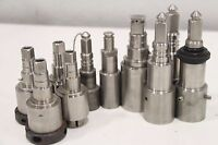 Lot of(10) MISC CNC Jacobs Chuck Drill Mill Tool Adapter Holder Attachment Lathe