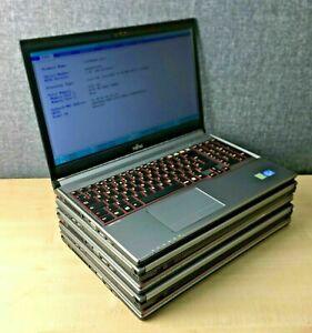 5 x Fujitsu Lifebook E753, Intel i5, 4GB Ram, 320GB HDD, Screen Marks - Job Lot