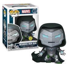 Marvel Infamous Iron Man Glow in the Dark Exclusive Pop! Vinyl Figure #677
