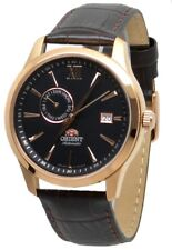 Orient Classic Automatic FAL00004B0 Black Dial Brown Leather Band Men's Watch