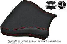 CARBON GRIP RED ST CUSTOM FITS SUZUKI GSXR 600 750 SRAD 96-00 FRONT SEAT COVER