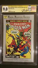 MARVEL MILESTONE EDITION THE AMAZING SPIDER-MAN #149 STAN LEE LABEL CGC SS 9.0