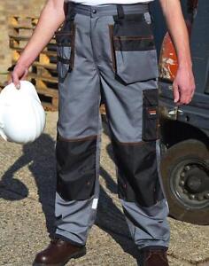 Arbeitshose Bundhose X-OVER Heavy Trouser Result R324X Gr. XS-5XL Grau/Schwarz