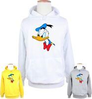 Disney Donald Duck Angry Face Print Sweatshirt Unisex Hoodies Graphic Hoody Tops