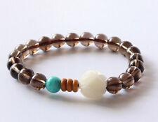 Ladies Natural Stone Energy Crystal Power Bead Bracelet Bangle Wrap for Women UK