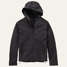 TIMBERLAND HOODED FLEECE JACKET MENS BLACK FULL ZIP BELLAMY RIVER JACKET RRP £90
