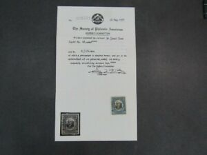 Nystamps US Possessions Canal Zone Stamp # 48 Used $140 SPA Certificate
