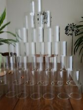 GlassTubes strong smooth  22+ pieces Possible Craft Art Decor Project