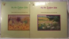 Robin Davis Orchestra ON THE LIGHTER SIDE Volume One and Two Mint/Sealed UK LPs