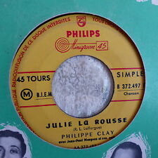PHILIPPE CLAY Julie la rousse / la gambille BO Film charmants garcons B372497F