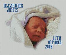 "BLUE Boy baby campionatore 2 contato CROSS STITCH KIT 12.75 ""X 10,75"" s2199"