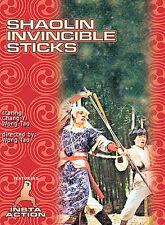 Shaolin Invincible Sticks (DVD) - NEW - Ji-Lung Chang, Yi Chang, Tso Nam Lee