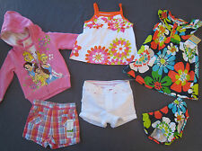 NEW 12 month Girl Summer clothes Lot $77 rv outfit Gymboree Princess Dress NWT