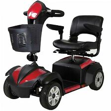 "Drive Ventura 4 Wheel Scooter, Fold Down 18"" Seat, Standard Mobility Cart Power"