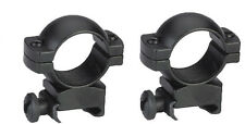 "Traditions TWO Scope Rings High 1"" Matte Black   # A793DS   New!"