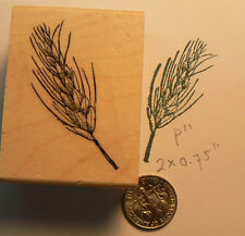 P11 Wheat ore rubber stamp Mounted 2x1""